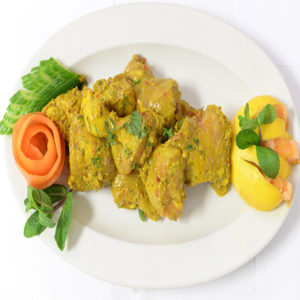Chicken Hara Tika Bone In